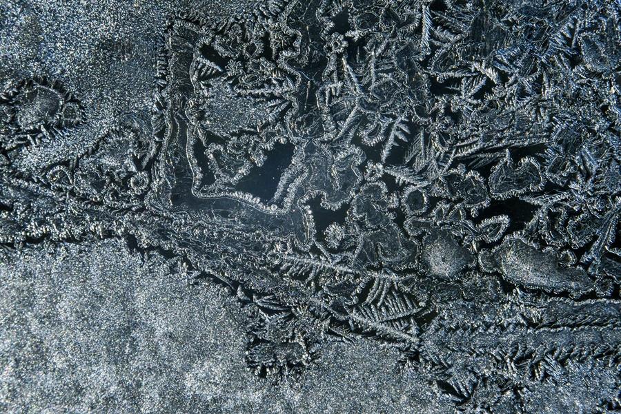 Hideg idõ - Jégvirágok