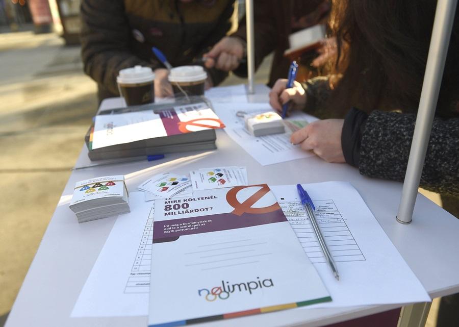 Olimpia 2024 - A Momentum Mozgalom a budapesti rendezés ellen g