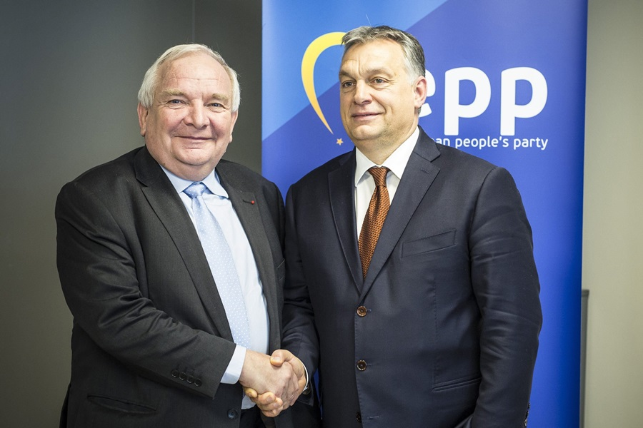 Orbán Viktor; Daul, Joseph
