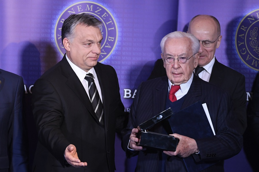 Orbán Viktor; Matolcsy György; Gerhardt Ferenc