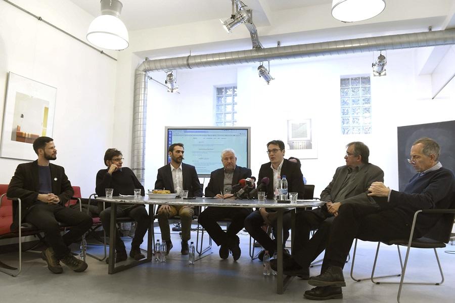 Karácsony Gergely; Vágó Gábor; Szabó Károly; Tordai Bence; Borz Miklós; Magyar György