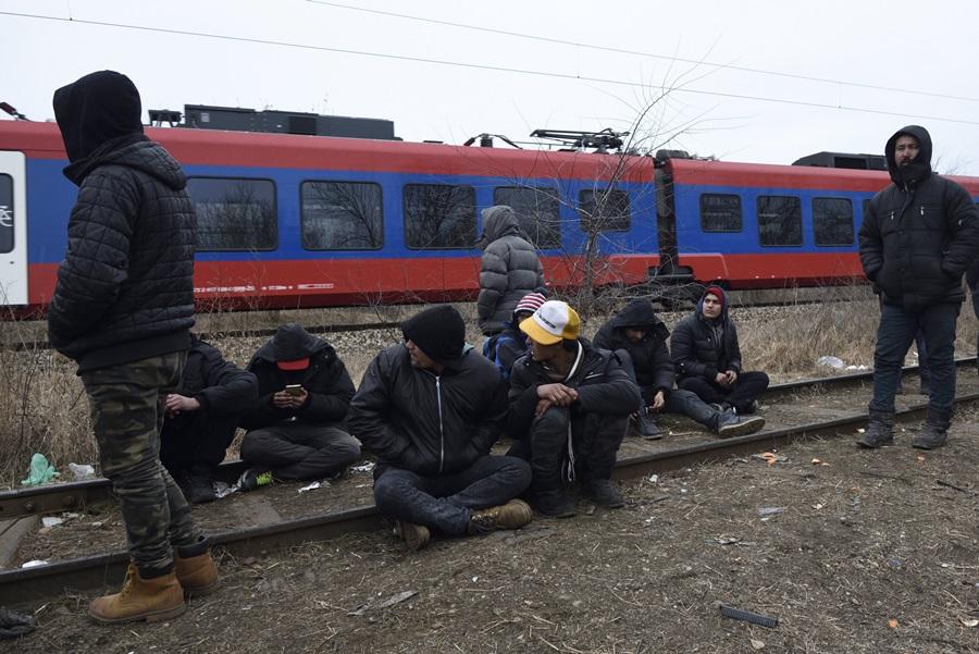 Illegális bevándorlás - Migránsok Szabadkán