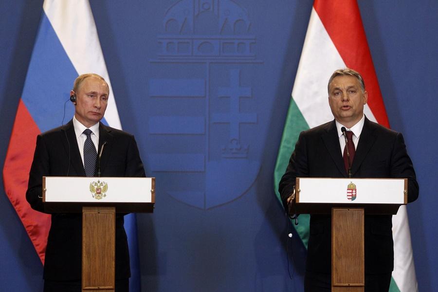 Orbán Viktor; PUTYIN, Vlagyimir