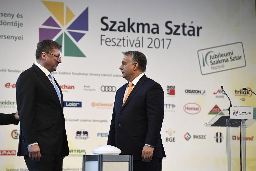 Parragh László; Orbán Viktor