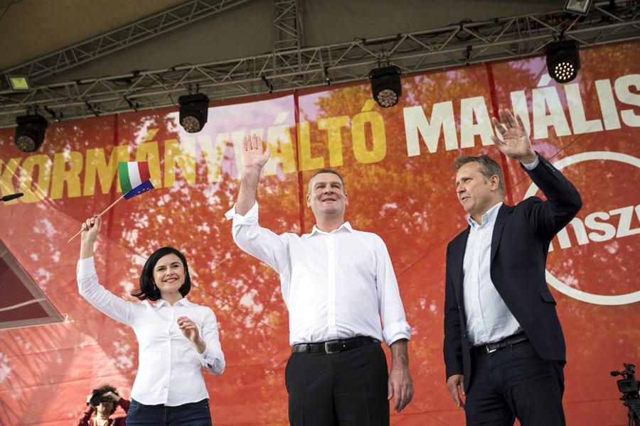 Kunhalmi Ágnes; Botka László; Molnár Gyula