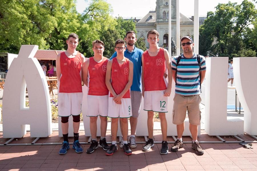 Kosárlabda: a Diákolimpián is sikeresek a vásárhelyi kosarasok