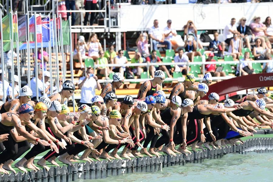 Vizes vb 2017 - Nyíltvízi úszás