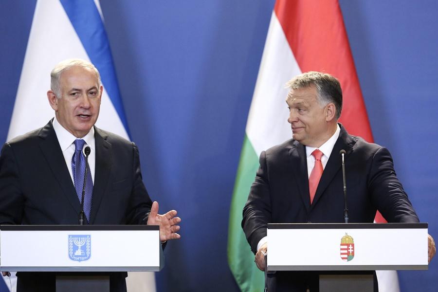 NETANJAHU, Benjámin; Orbán Viktor