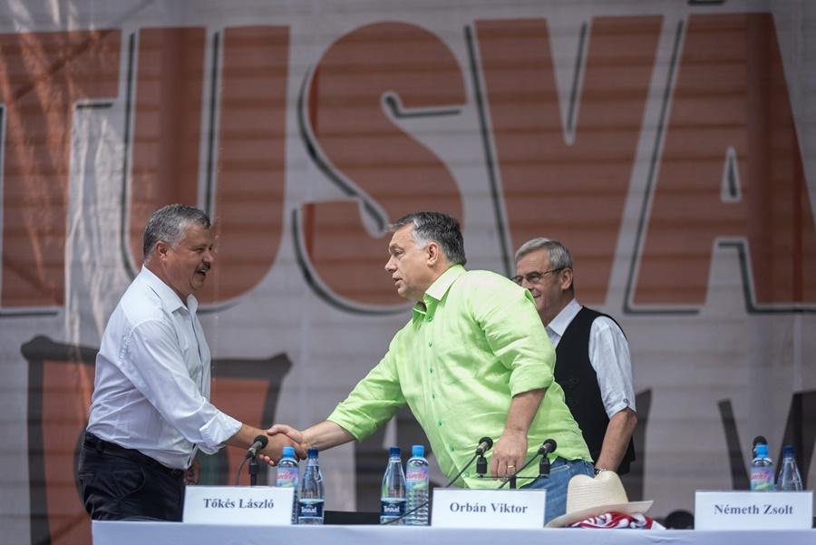 Orbán Viktor; Tõkés László
